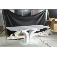 China hot sale high quality glass/MDF dining table T1902 on sale