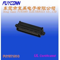 Cheap TYCO RJ21 25 Pair Male Centronic Champ IDC Connector with Cable Clip Certificated UL wholesale