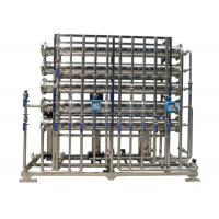 Cheap Stainless steel 2 stage RO Water treatment  Horizontal for ultra pure water 4 m3 / day 24000GPD wholesale