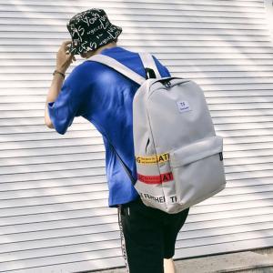 Cheap Schoolbag female Korean version of high school students backpacks large capacity backpacks male street photo trend wholesale