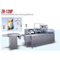 Cheap PLC Control ZH 120P Automatic Cartoning Machine for Small Medicine Bottle wholesale