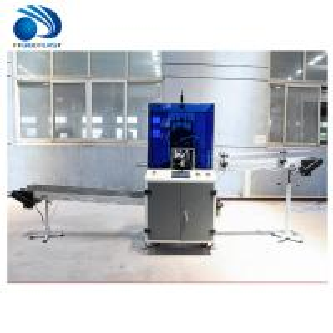 Cheap Full Automatic Plastic Bottle Cutting Machine For Pesticide Bottle Neck wholesale