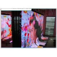 Cheap P6 Flexible LED Curtain SMD3528 , Rental Flexible Video Display High Resolution wholesale