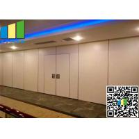 """Cheap 3 3/8"""" Operable Exhibition Partition Walls 85mm Room Divider Walls For Exhibition Hall for sale"""
