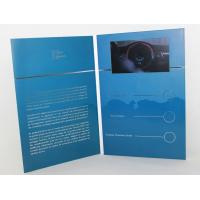 "Cheap 5"" silver printing Video Brochure Card , fair display lcd video business cards wholesale"
