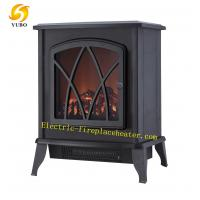 Cheap Decorative Free Standing Electric Fireplace 2000W , Small Size Electric Stove wholesale