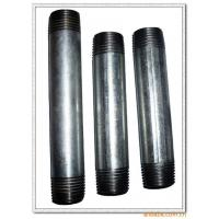 Cheap Hot dip galvanized carbon steel pipe nipples wholesale