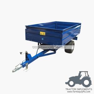 Cheap 2TR2W off road Hydraulic dump trailer 1.0ton wholesale