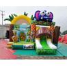 Buy cheap Safari Park Inflatable Bouncy Castles Digital Printing Combi Slide Bouncer from wholesalers