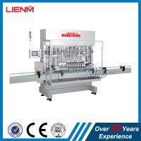 Cheap Automatic linear piston cosmetic automatic shower gel bottle filling capping labeling machine filling line packing wholesale