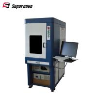 Quality 3w 5w 8w 10w 15w Desktop UV Laser Marking Machine For Packing Bag and IC Card for sale