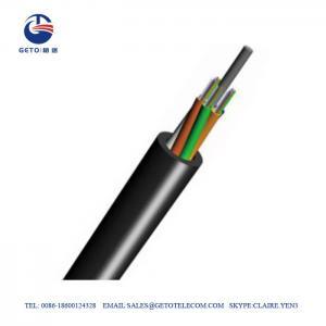 Cheap Outdoor GYFTY G652D 12 Core Single Mode Fiber Optic Cable wholesale
