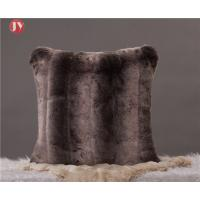 Cheap Luxury Faux Fur Throw Pillow Cover Deluxe Decorative Plush Pillow Case Cushion Coverfor Sofa Bedroom Car 18 x 18 Inch wholesale