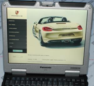 Cheap Automotive Diagnostic Tool Porsche Piwis II With Panasonic CF30 With Unlocking Software wholesale