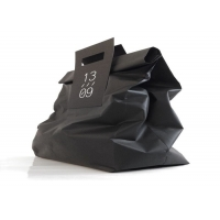 Cheap Folded paper bag - customized by material, color, size, load weight, printing wholesale