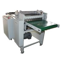 Cheap rubber material slitting and sheeting machine with conveyor belt wholesale