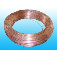 Cheap Steel Evaporator Tube 6.35 × 0.65 mm Copper Coated Round Non - Secondary wholesale
