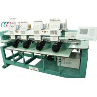 Buy cheap 4 Heads Cap / T-shirt Tubular Embroidery Machine , 9 Colors from wholesalers