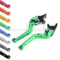 Cheap Extendable Folding Clutch And Brake Levers , V Strom 650 Green Motorcycle Levers wholesale