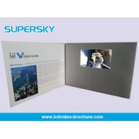 Cheap Multi Player Automatic Video Gift Card Video Leather Production Business Cards wholesale