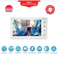 Cheap Morningtech 7 inch Long distance AHD door entry video security camera with raincover door bell wholesale
