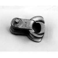 Buy cheap Galvanized steel thimble clevis for dead end 120KN from wholesalers