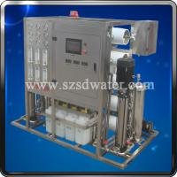 China Mobile Water Treatment Plant 2TPH on sale