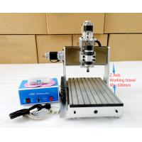 Cheap Small 4th Axis CNC 3020 Router , 4 Axis CNC Router Milling Machine wholesale