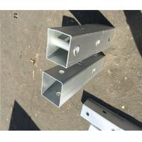 Cheap Q235 Material Metal Fence Accessories Steel Perforated Square Tube ISO9001 CE wholesale