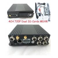 Cheap 4 Channels GPS dual sd card 3G sim card Car Mobile DVR  for vehicles wholesale