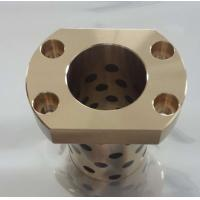 Buy cheap copper material flange Fixed Bronze Guide Bush from wholesalers