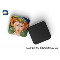 Cheap Square Wine Tea Cup Custom Printed Coasters 3D Lenticular Printing Service wholesale