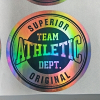 Buy cheap Custom Logo Printed Die Cut Hologram Laser Sticker Label from wholesalers