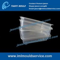 Cheap Expertise in thin wall rectangular food container moulded products -250g wholesale