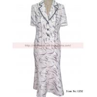 China lady two-piece suit pictures of long skirts on sale