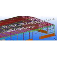Cheap Steel Workshop Civil Engineering Structural Designs For Fabrications wholesale