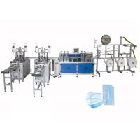 Cheap Fast Delivery Automatic Surgical 3ply Non Woven Disposable Earloop Face Mask Making Machine wholesale