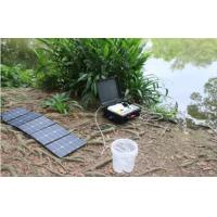 Buy cheap Compact Portable Solar Water Purifier Suitcase Style DC12V DC24V Water Filtering from wholesalers