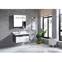 Cheap Environment Friendly Modern Vanity Set , 4 Metal Legs Wall Hung Vanity wholesale