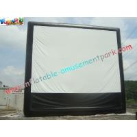 Cheap Large Inflatable Projection Screen Outdoor Movie Theater For Christmas Decorations wholesale