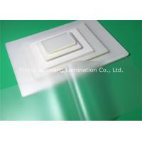 Cheap Glossy PET Pouch Laminating Film Glossy Preventing Alteration For Documents Cards wholesale