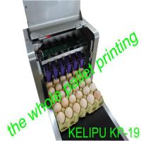 Easy Operation Egg Date Stamp Machine Can Spray Print 200000 Eggs With 45ml Ink
