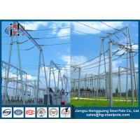 Cheap Electrical Substation Galvanized Steel Structure CO2 Welding wholesale