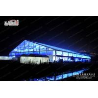 Large Clear Luxury Wedding Tents Decoration With Transparent Roof Cover