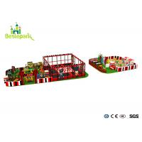 Cheap Commercial Centre Kids Indoor Playground Anti - Static Colorful Theme wholesale
