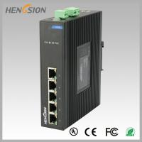 Buy cheap Fanless Dinrail Industrial Level Ethernet Network Switch For Plug And Play from wholesalers