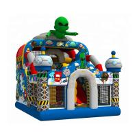 Cheap Out Space Inflatable Bouncy Castle Slide Combo Jumper 1 Year Warranty wholesale