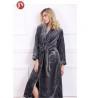 Buy cheap Soft Plush Long Fleece Bathrobe , Warm Thick Kimono Robes For Womens 330 Gsm from wholesalers