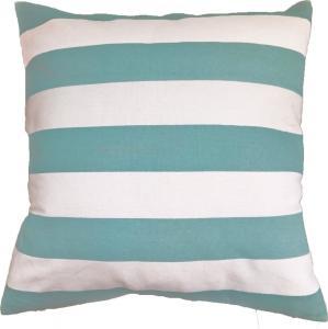 Green Stripe Printed Pillow Cushion Covers
