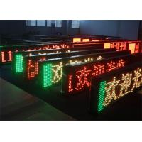 Cheap GIF Animation Picture Display Programmable LED Signs Indoor RS232 1 / 4 Constant Current wholesale